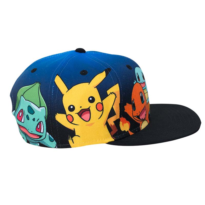 Official Pokemon Character Snapback Hat Buy Online On Offer