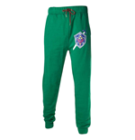NINTENDO Legend of Zelda Men's Master Sword and Hylian Shield Lounge Pant, Medium, Green