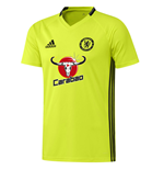 2016-2017 Chelsea Adidas Training Jersey (Yellow)