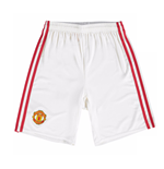 2016-2017 Man Utd Adidas Home Shorts (Kids)