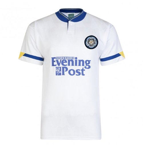 Score Draw Leeds United 1992 Home Shirt