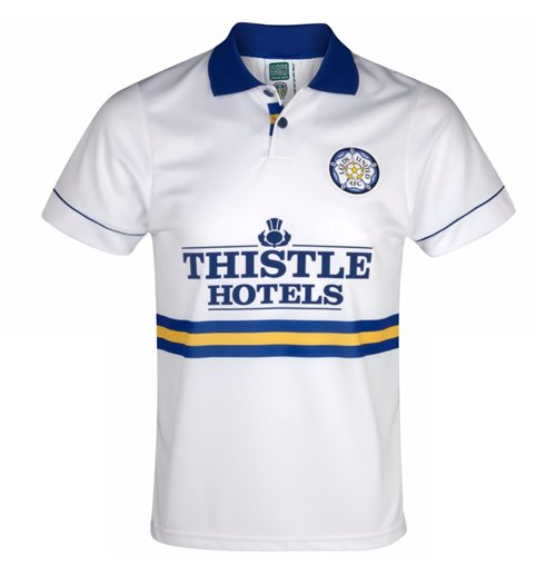 Score Draw Leeds United 1994 Home Shirt