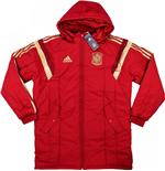 2016-2017 Spain Adidas Padded Jacket (Red)