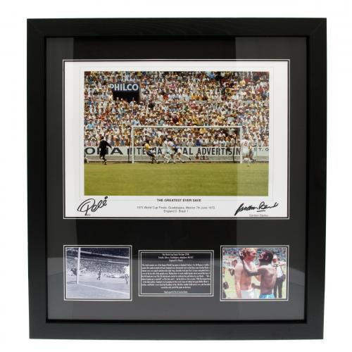 Pele & Banks Dual Signed Framed Print