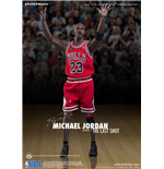 NBA Collection Real Masterpiece Actionfigur 1/6 Michael Jordan (Road Jersey) 33 cm