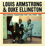 Vynil Louis Armstrong & Duke Ellington - Recording Together For The First Time
