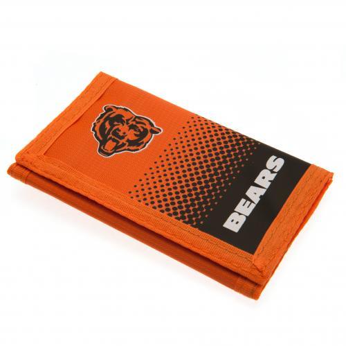 official chicago bears nylon wallet buy   offer