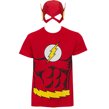 The FLASH Mask Costume Tee Shirt