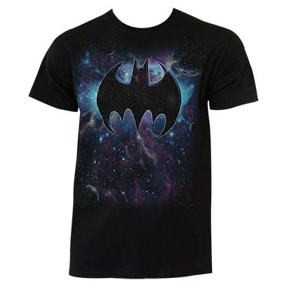 BATMAN Galaxy Logo Tee Shirt