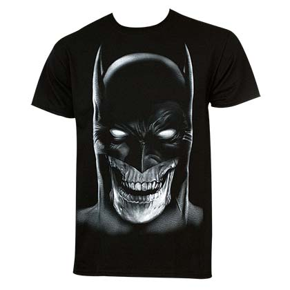 BATMAN Skull Mask Tee Shirt