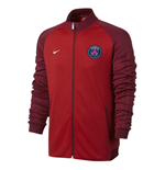 2016-2017 PSG Nike Authentic N98 Track Jacket (Red)