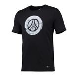 2016-2017 PSG Nike Core Crest Tee (Black) - Kids