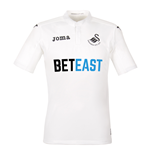 2016-2017 Swansea City Joma Home Football Shirt