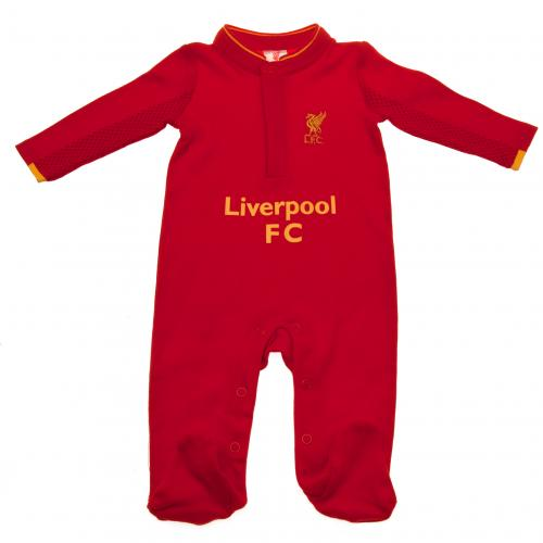 Liverpool F.C. Sleepsuit 6/9 mths GD
