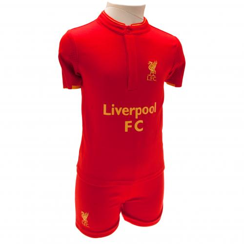 Liverpool F.C. Shirt & Short Set 12/18 mths GD