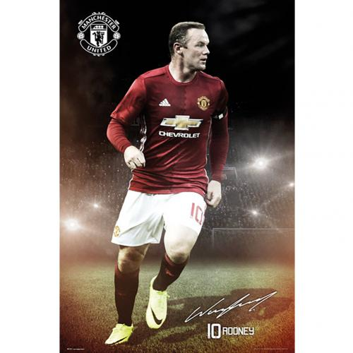 Manchester United F.C. Poster Rooney 15