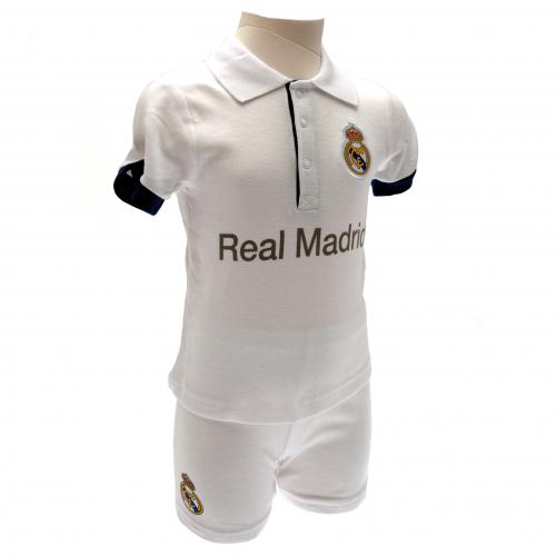 Real Madrid F.C. Shirt & Short Set 12/18 mths PL