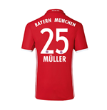 2016-17 Bayern Home Shirt (Muller 25) - Kids