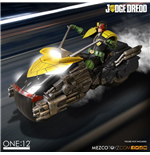 Judge Dredd Vehicle with Sound & Light Up 1/12 Judge Dredd's Lawmaster
