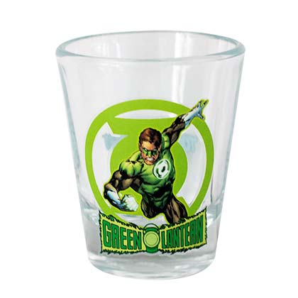 GREEN LANTERN Shot Glass