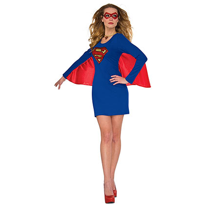 Superman SUPERGIRL Winged Dress