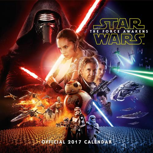 Star Wars The Force Awakens Calendar 2017