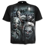 Zombie Horde - Walking Dead T-Shirt Black