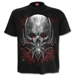 Spider Skull - T-Shirt Black