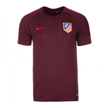 2016-2017 Atletico Madrid Nike Training Shirt (Night Maroon)