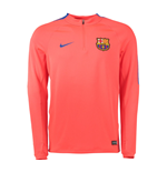 2016-2017 Barcelona Nike Drill Training Top (Crimson) - Kids