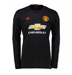 2016-2017 Man Utd Adidas Home Goalkeeper Shirt