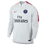 2016-2017 PSG Nike Drill Top (White) - Kids
