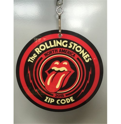 The Rolling Stones Charm Zc15 Laminate Lanyard For Only