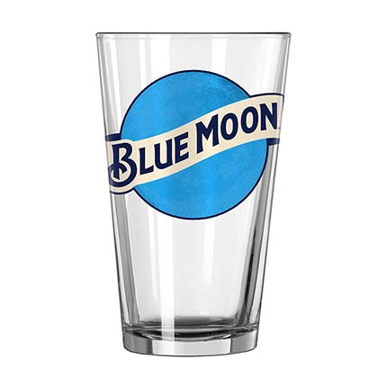 BLUE MOON Pint Glass