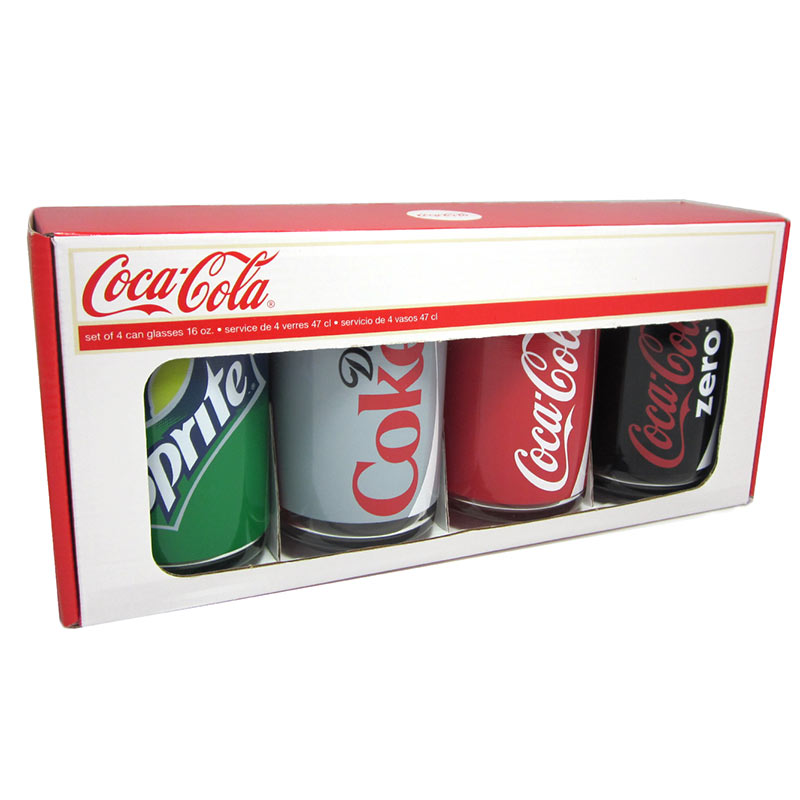 Coca Cola Can Glasses Uk