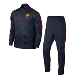 2016-2017 AS Roma Nike Woven Tracksuit (Obsidian) - Kids