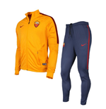 2016-2017 AS Roma Nike Woven Tracksuit (Orange) - Kids