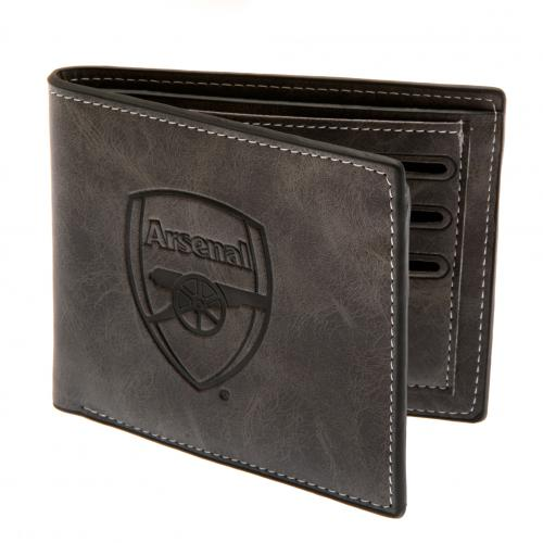 Arsenal F.C. Faux Suede Wallet 818