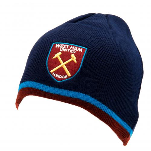 West Ham United F.C. Knitted Hat TP