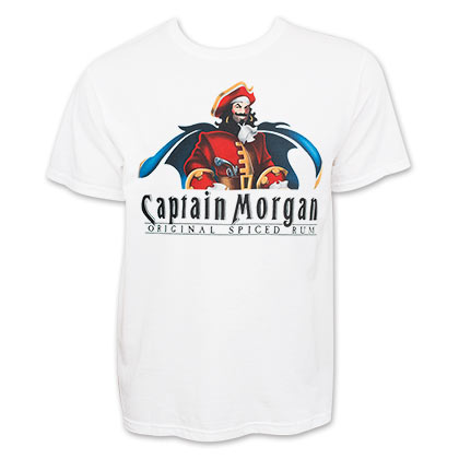 CAPTAIN MORGAN Logo Tee Shirt