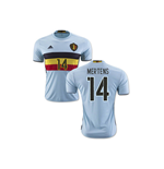 2016-2017 Belgium Away Shirt (Mertens 14)