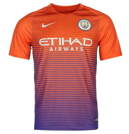 2016-2017 Man City Third Nike Football Shirt
