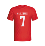 Antoine Griezmann Atletico Madrid Hero T-shirt (red) - Kids