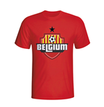 Belgium Country Logo T-shirt (red) - Kids