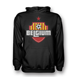 Belgium Country Logo Hoody (black) - Kids