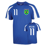 Brazil Sports Training Jersey (oscar 11) - Kids