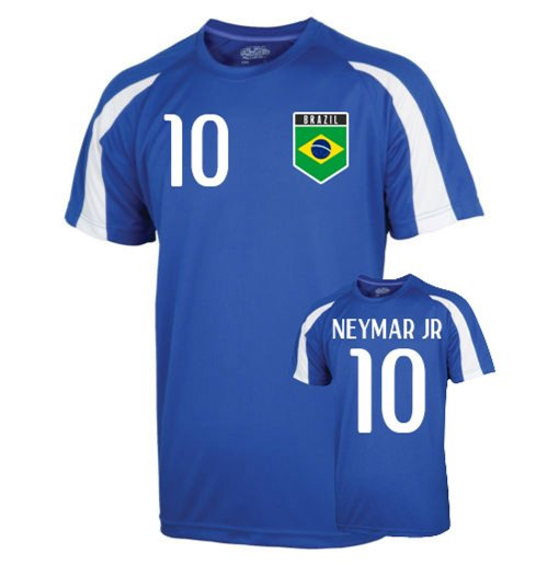 Brazil Sports Training Jersey (neymar Jr 10) - Kids
