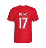 Daley Blind Man Utd Hero T-shirt (red)
