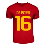 Daniel De Rossi Roma Hero T-shirt (red)