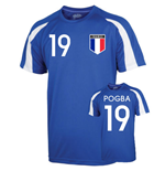 France Sports Training Jersey (pogba 19) - Kids